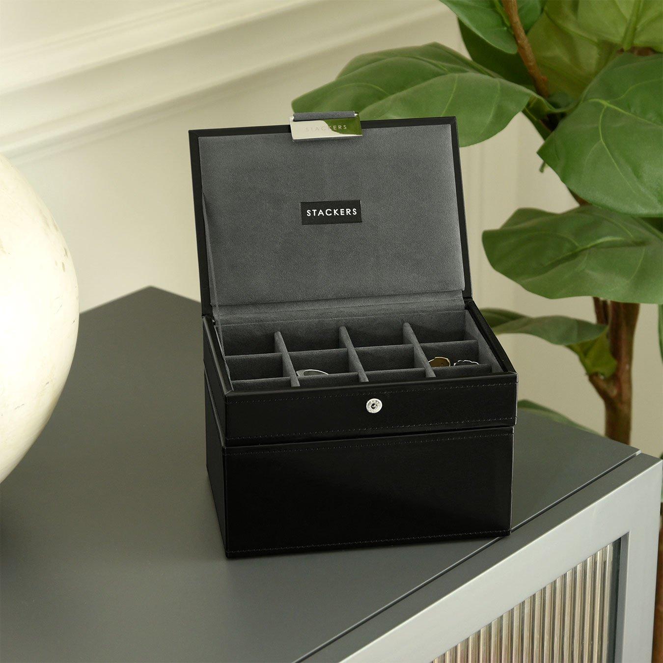 Pudełka na spinki i zegarki