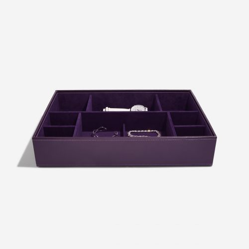 pudełko na biżuterię i zegarki Supersize fioletowe