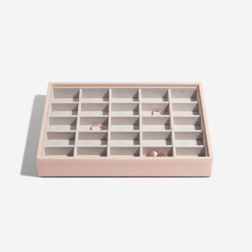 małe pudełko na drobną biżuterię Classic pudrowe
