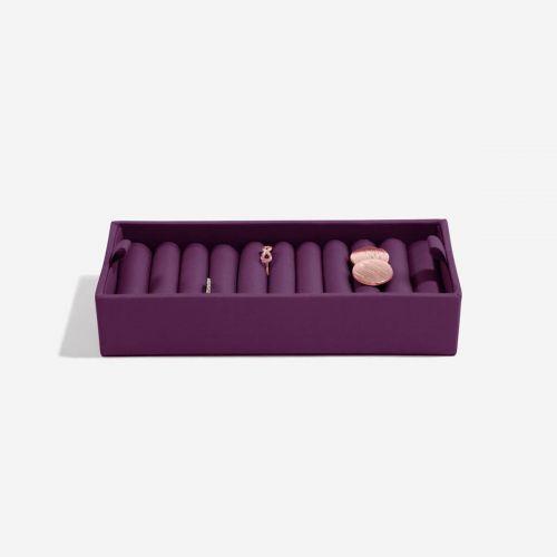 wkładka na pierścionki fioletowa