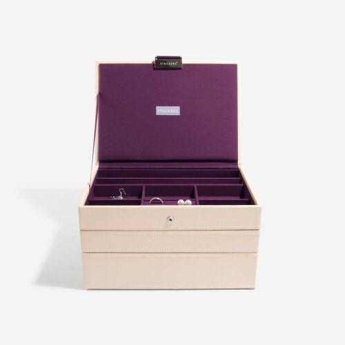 pudełko na biżuterię Classic kremowe