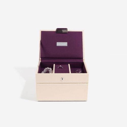 pudełko na biżuterię Mini kremowe