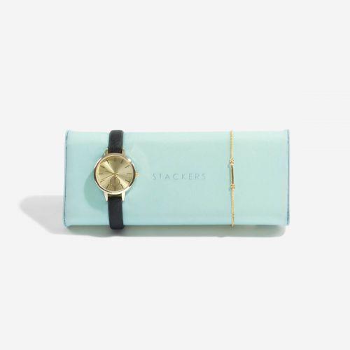poduszka na zegarki i bransoletki miętowa