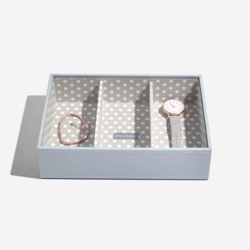 pudełko na biżuterię i zegarki Classic w grochy