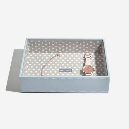 pudełko na biżuterię Chunky Classic w grochy