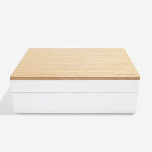 pudełko na biżuterię Supersize białe
