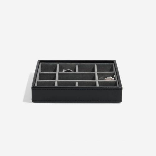 pudełko na spinki do mankietów czarne