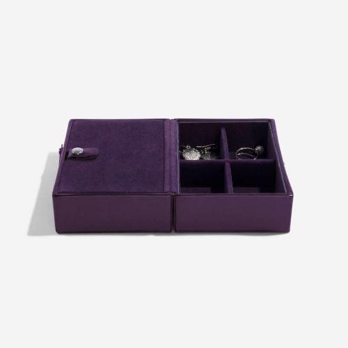 pudełko na biżuterię Travel fioletowe