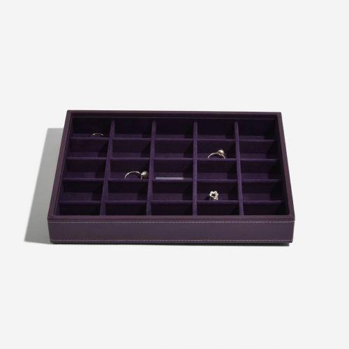 małe pudełko na drobną biżuterię Classic fioletowe
