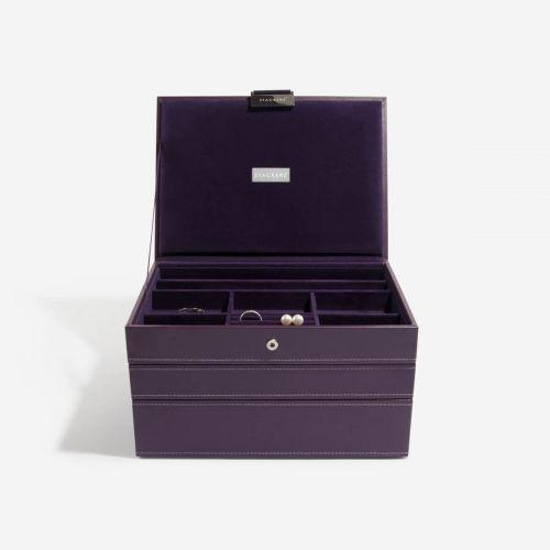 pudełko na biżuterię Classic fioletowe
