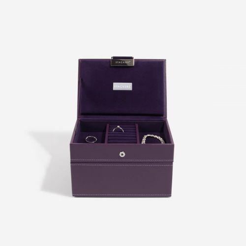 pudełko na biżuterię Mini fioletowe