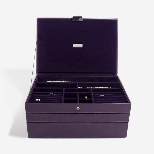 pudełko na biżuterię Supersize fioletowe