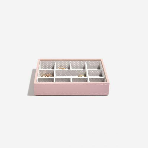 małe pudełko na drobną biżuterię Mini jasnoróżowe