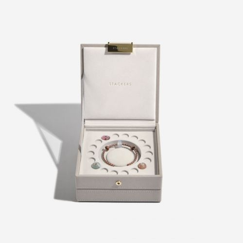 pudełko na biżuterię Charm taupe