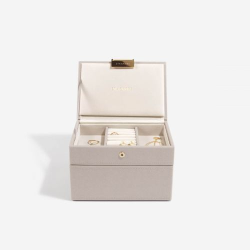 pudełko na biżuterię Mini taupe