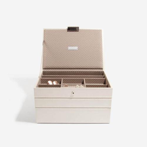 waniliowe Classic pudełko na biżuterię