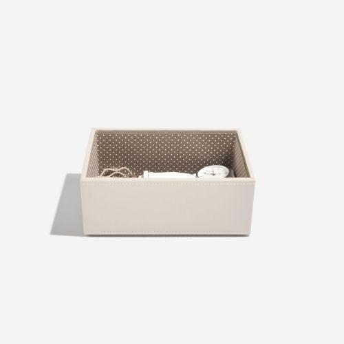 pudełko na biżuterię i zegarki Mini waniliowe