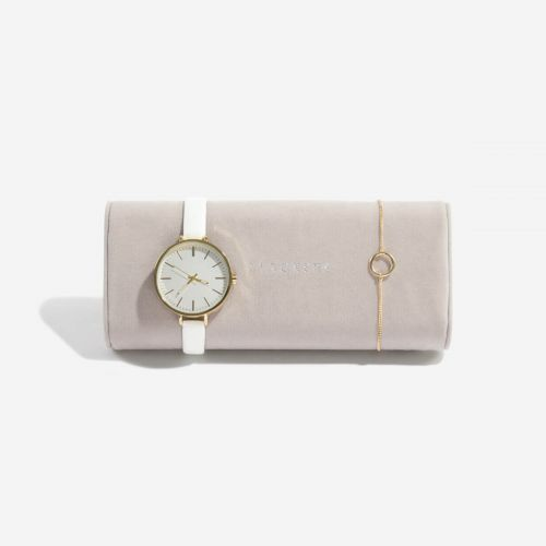 poduszka na zegarki i bransoletki beżowa