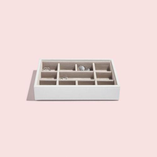 małe pudełko na drobną biżuterię Mini białe