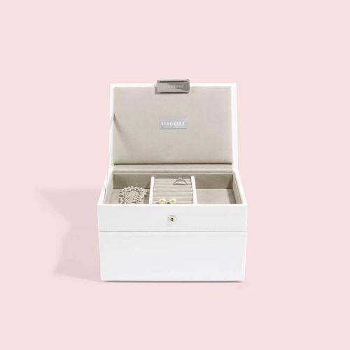 pudełko na biżuterię Mini białe